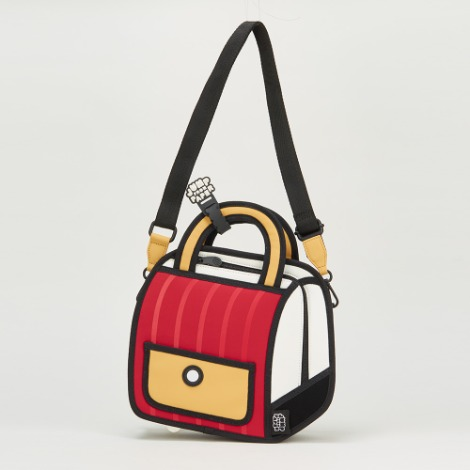Outer Stripe Handbag